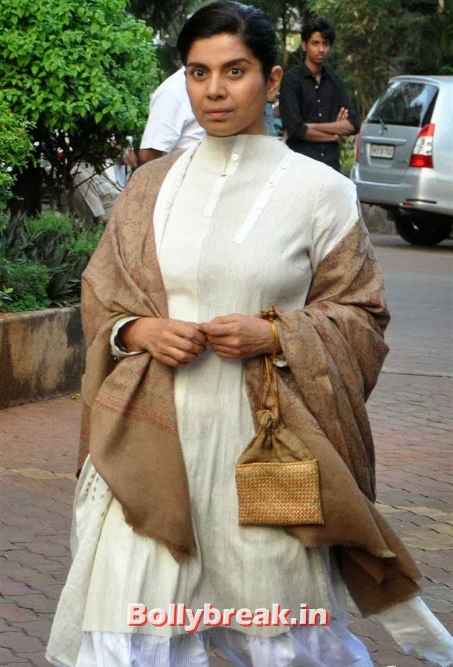 Mita Vashisht, Celebs at Farooq Sheikh Prayer Meet