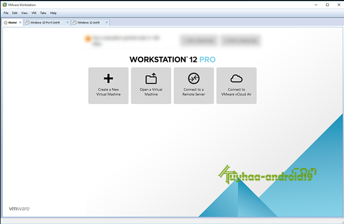 VMware Workstation Pro 12.0.0 Build 2985596