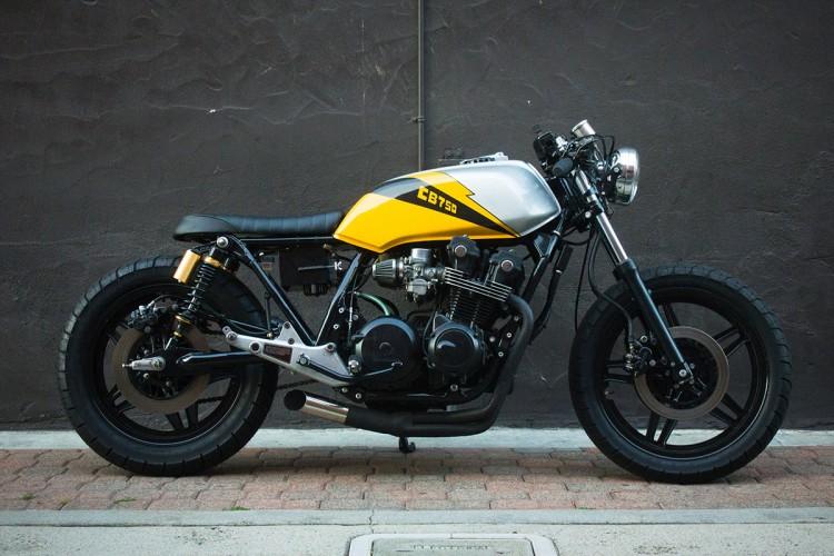 honda cb 750 ellis brothers garage garagem cafe racer. Black Bedroom Furniture Sets. Home Design Ideas