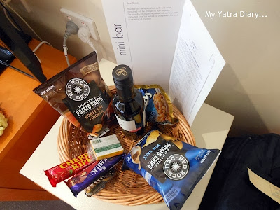 Freebies in Hotel Citigate, Melbourne