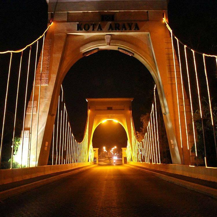 Hasil gambar untuk jembatan araya