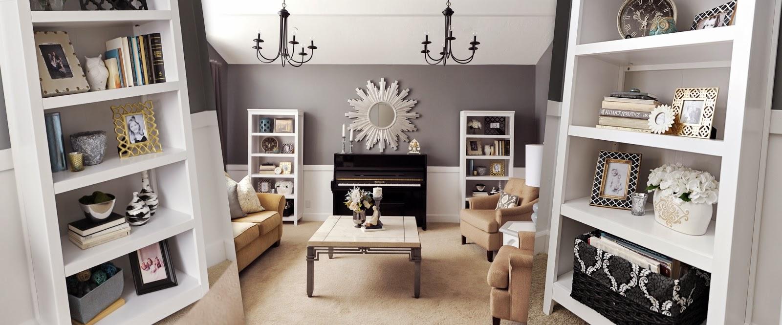 the best attitude 9cfc7 f6ef2 Studio 7 Interior Design: How to Stage a Bookcase