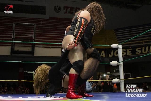Baby Puma vs Chacala -lucha libre