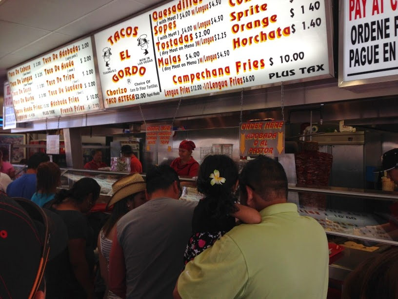 Back When Tacos El Gordo Had An Outlet On The Strip Which Is Sadly Gone Now I Wanted To Try Them Out But First Time Went There Lines Were