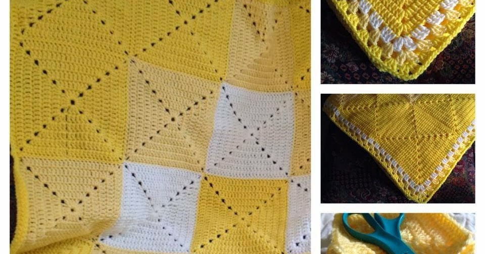 Bizzy Crochet The Yellow Blanket