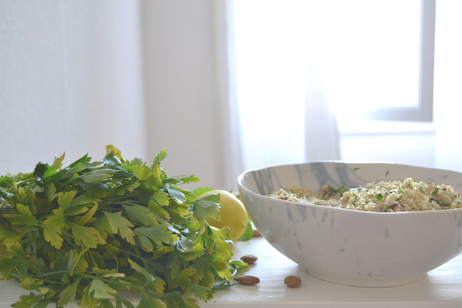 salade de quinoa a la menthe spoonencore