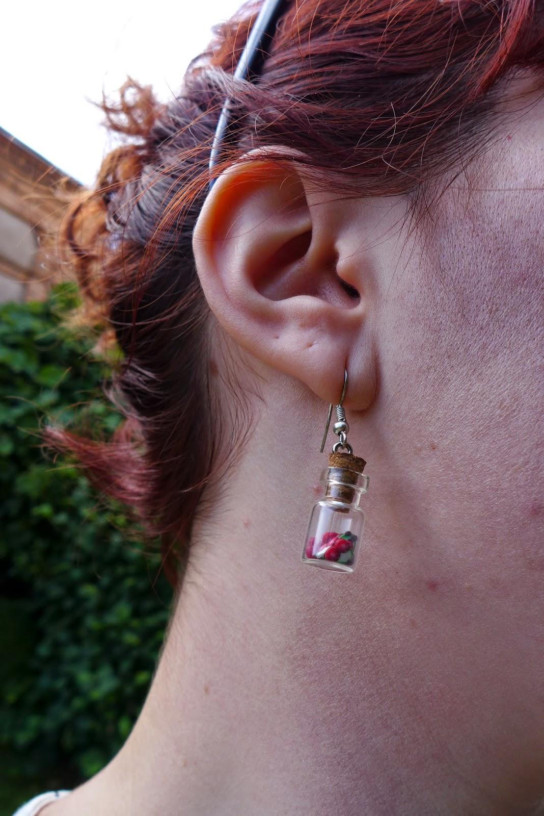 boucles d'oreille flacons