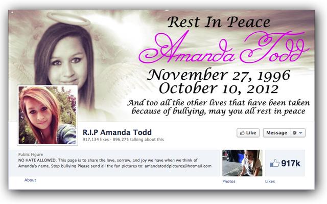 amanda todd dead