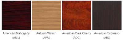 Offices To Go Furniture Finish Swatches - Superior Laminate Series