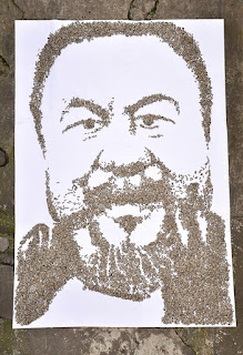 Retrato de Ai Weiwei por Red Hong Yi