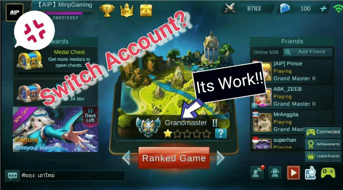 Cara Pindah Akun Mobile Legends Dari iOS Ke Android
