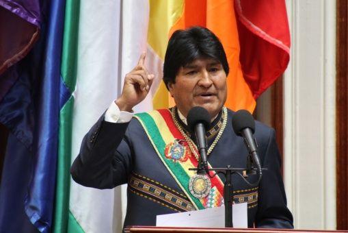 """""""Chile nos roba y nos demanda"""", afirma Evo Morales sobre Silala"""