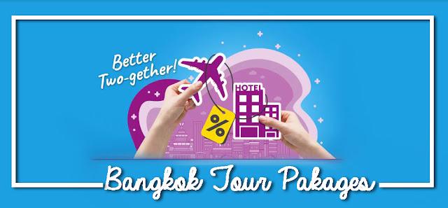 Pakej percutian ke bangkok termasuk tiket penerbangan dan penginapan dengan Traveloka