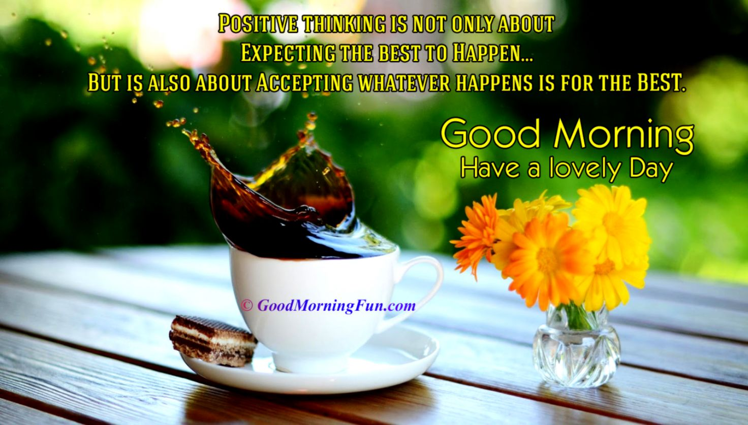 Good Morning Quote Wallpaper Inspiration Wallpapers