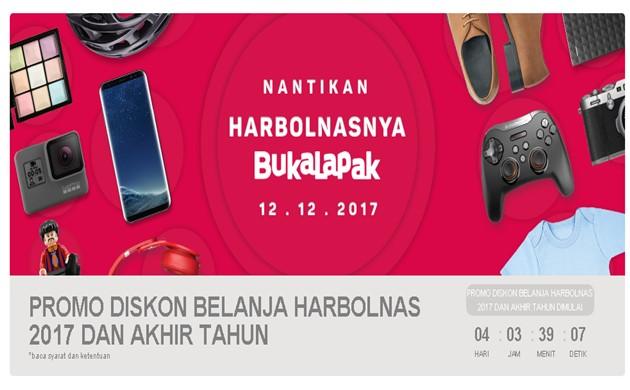 Promo Harbolnas 2017 - Bukalapak.com