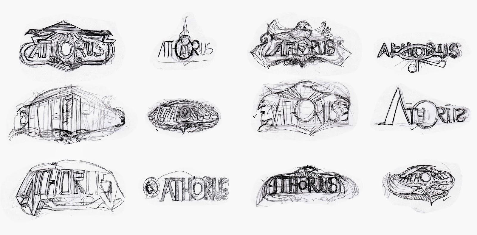 AO artworld: Athorus mobile game : UI artwork