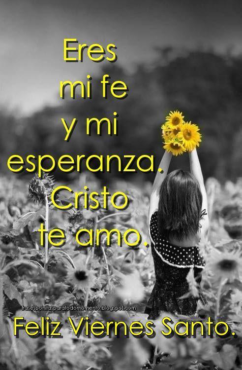 Cristo te amo.