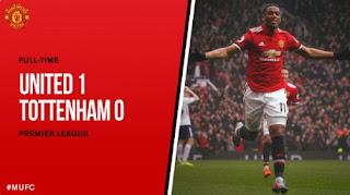 Manchester United Taklukkan Tottenham Hotspur 1-0