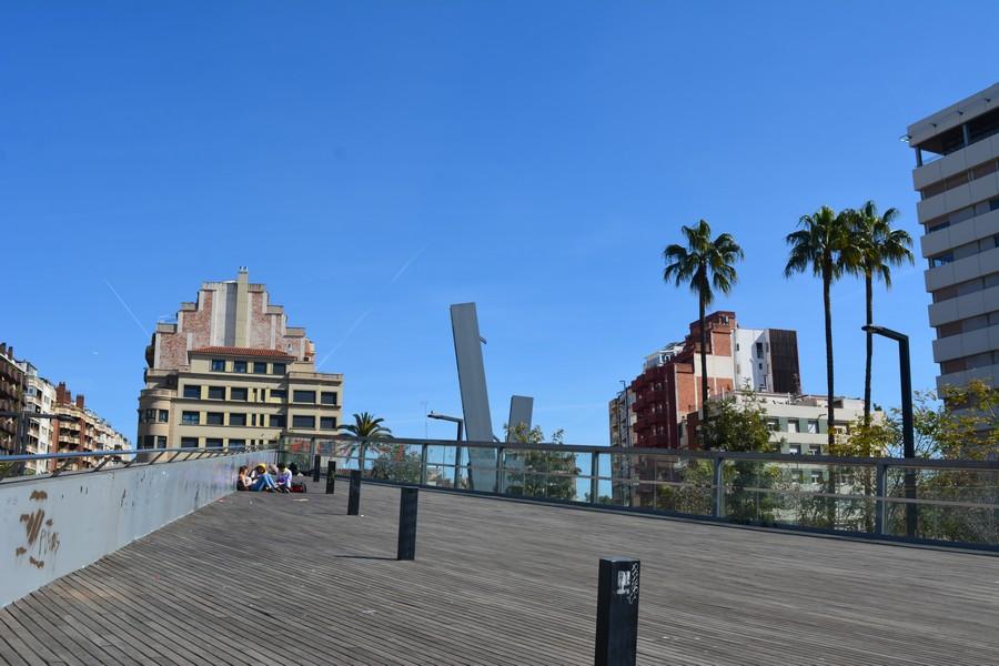 esplanade place Lesseps
