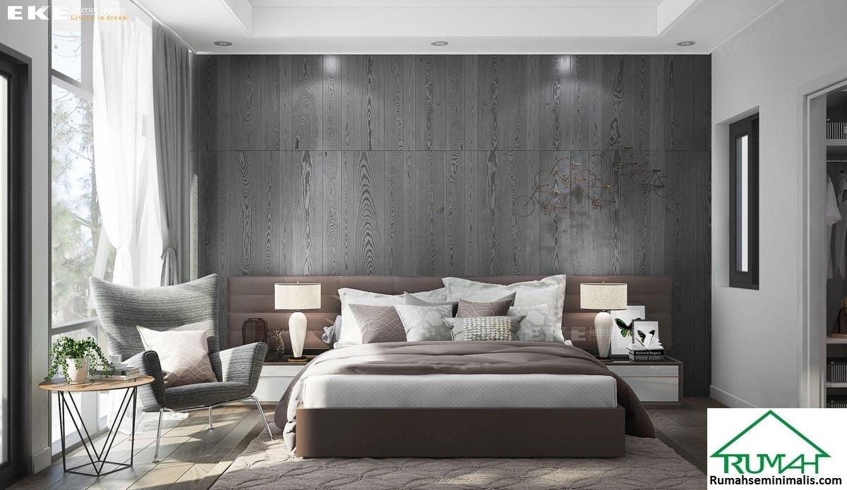 Kumpulan Denah Model Desain Gambar Kamar Tidur Minimalis Modern