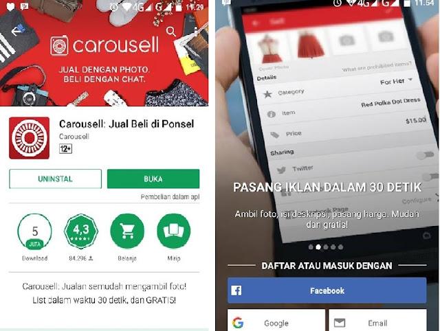 Review Carousell : Aplikasi Jual Beli Online yang Inovatif dan Menarik