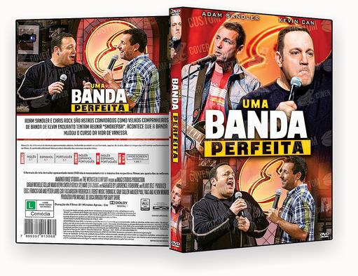 CAPA DVD – UMA BANDA DIFERENTE 2018 – ISO