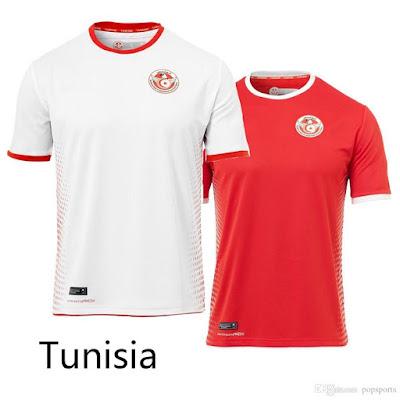Jersey Timnas Tunisia New 2018