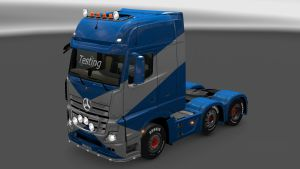 Plastic and Paint parts v 3.1.2 for Mercedes MP4