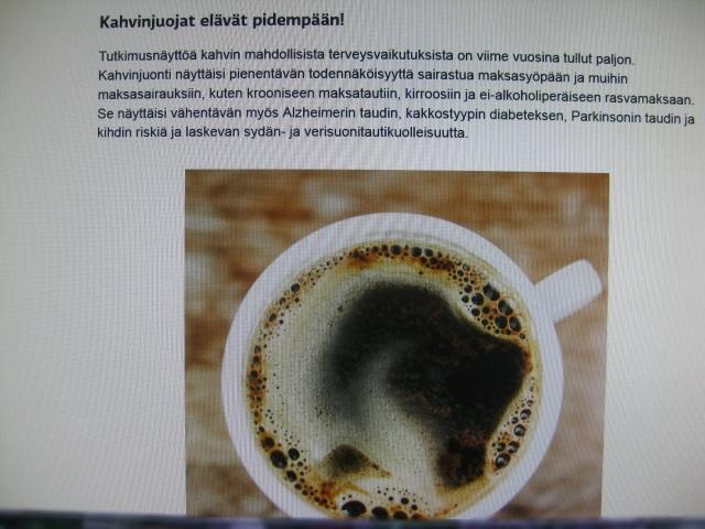 Kahvin Terveellisyys