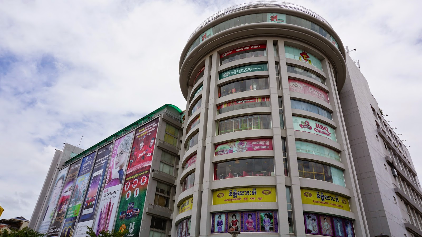 Sorya shopping centre is located just opposite the Central Market