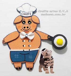 Chefe de cozinha em E.V.A