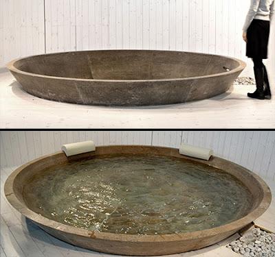 Tina de baño original