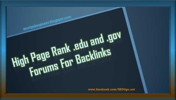 HIGH PR .GOV & .EDU BACKLINKS LIST 2016