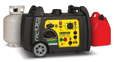 Introducing the RV-Ready, Dual-Fuel, 3400-Watt Portable Inverter Generator from Champion Power Equipment