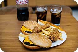Junk food and negative forms of Stress coping