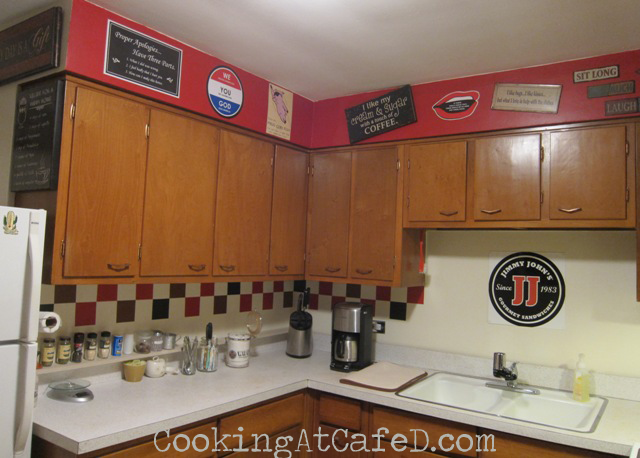 Cooking At Caf 233 D Our Diy Jimmy John S Kitchen The Reveal