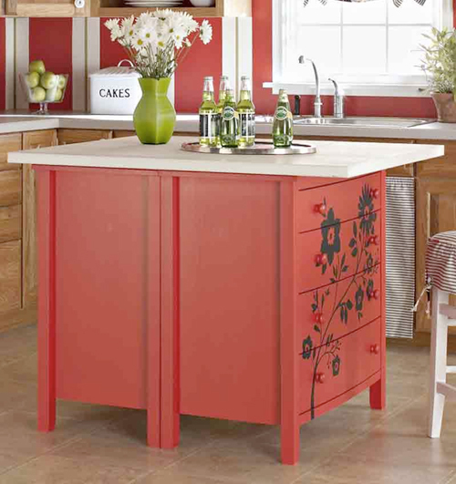 Make A Kitchen Island Out Of An Old Dresser
