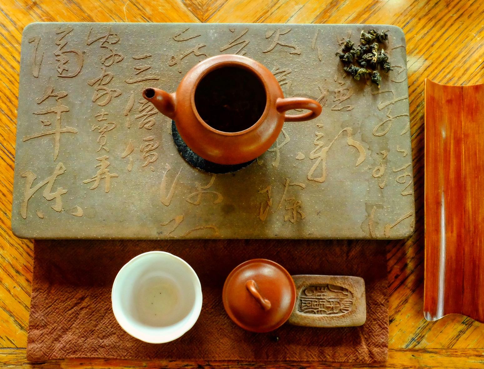 Le Chameau Bleu - Cérémonie du thé à DonDingShan Taiwan - Séjour taiwan