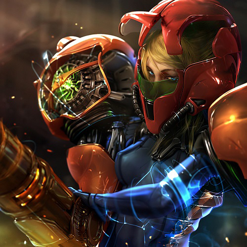 Samus Aran Wallpaper Engine