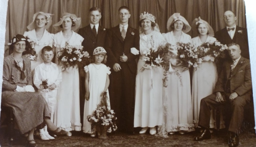 2d451865a4 What Kate-Em did next.  More vintage wedding photographs part three