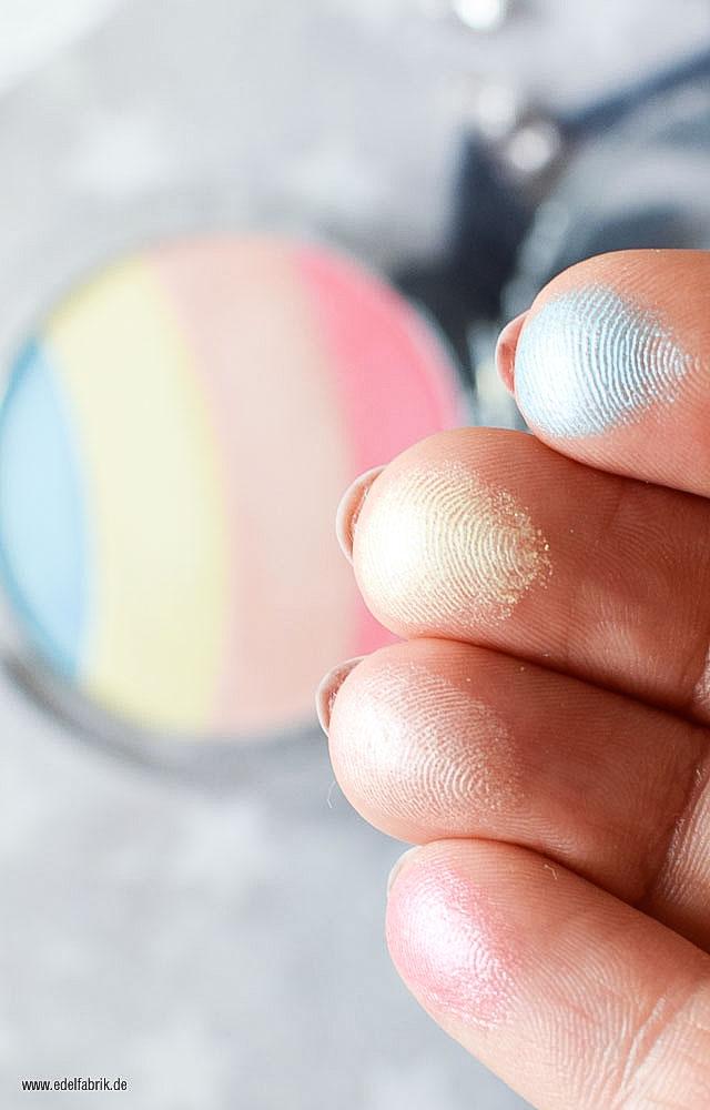 essence prismatic rainbow highlighter