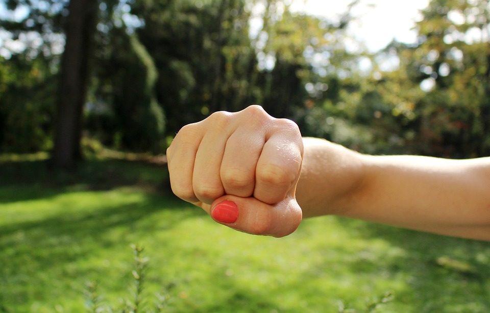 Balled Up Fist In Anger Pixibay Image Showing a Bad Mood
