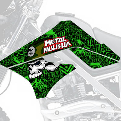 KLX Green Mulisha