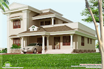 1800 Square Feet 3 Bedroom Home Design - Kerala