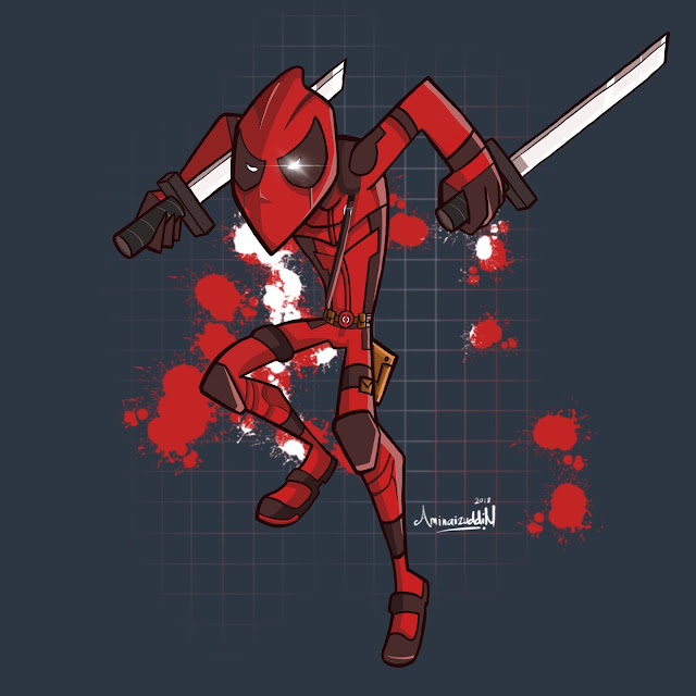"""Deadpool"" LABIllustra"
