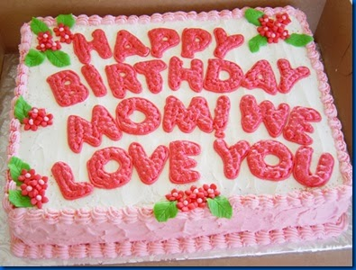 Frases Para Cumpleaños De Mamá: Happy Birthday Momi We Love You