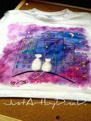 handpainted-tshirt-justartbydinad