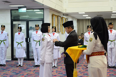 Gubernur Lampung Kukuhkan Anggota Paskibra Provinsi