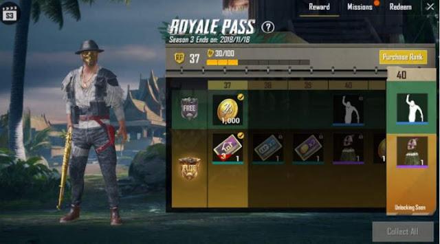 Cara Mendapatkan Royal Pass Elite Gratis PUBG Mobile