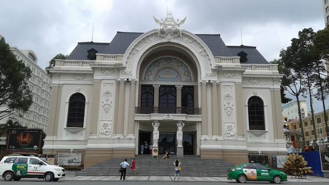 Edificio de la Ópera en Ho Chi Minh City